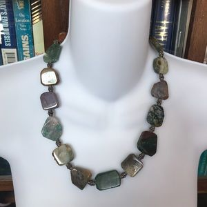 New custom stone necklace
